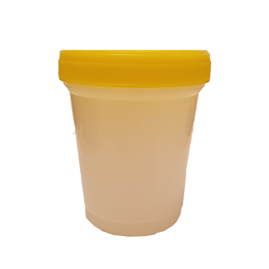400 ml yellow top